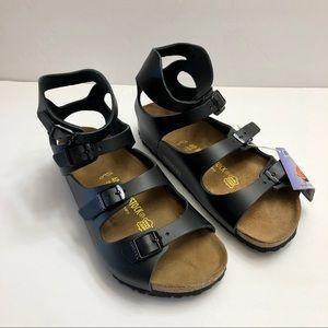 NWT BIRKENSTOCK Gladiator Athen Sandals Leather,9